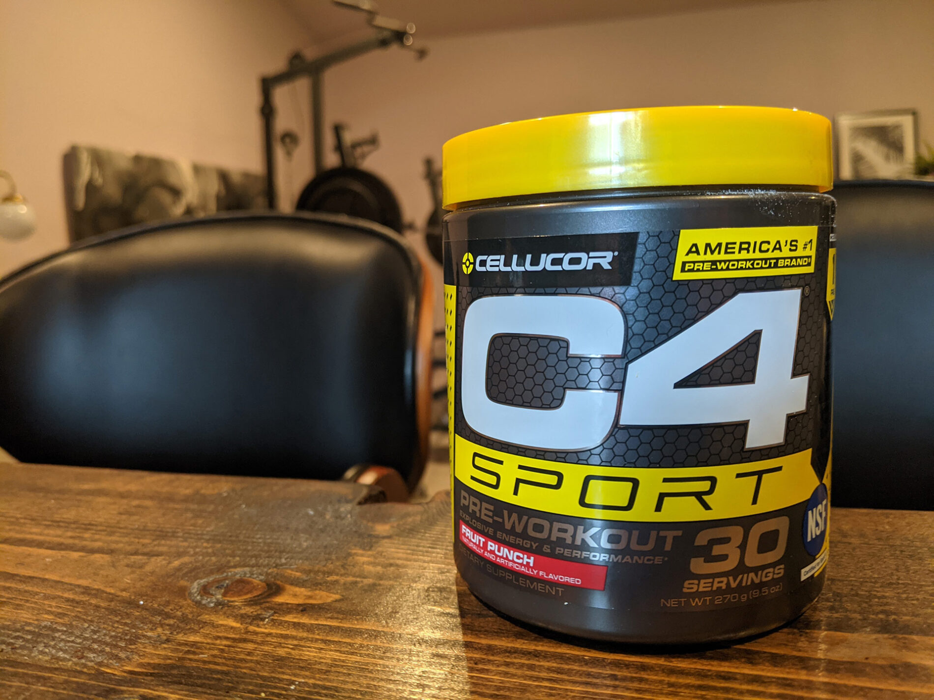 Image of Cellucor's C4 Sport pre-workout mix.